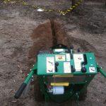 reticulation digging boom